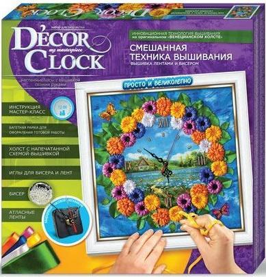 Набор для творчества ДАНКО-ТОЙС Decor Clock Лето от 12 лет  DC-01-02 набор для творчества данко тойс my color clutch пони от 5 лет