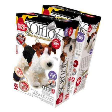 Набор для шитья Plush Heart Фокстерьер Монморенси 457002 rainbow alpacasso alpaca plush soft doll arpakasso kawaii llama plush amuse soft toy stuffed animal children gift