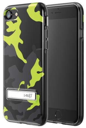 Чехол LAB.C LABC-174-YW для iPhone 7 желтый чёрный молния для одежды yw market 80 ab 80cm