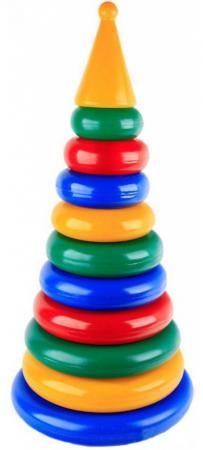 Пирамида Строим вместе Гигант 53 см 12 элементов 5020 игрушка пирамида плэйдорадо гигант