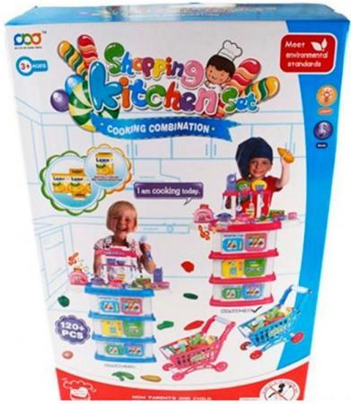 Игровой набор Shantou Gepai Повар с аксессуарами 666-194 игрушка shantou gepai машина перевертыш 666 858