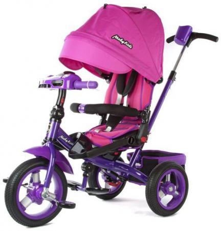 Велосипед трехколёсный Moby Kids Leader-2 12*/10* розовый детский велосипед для девочек leader kids g14bd127