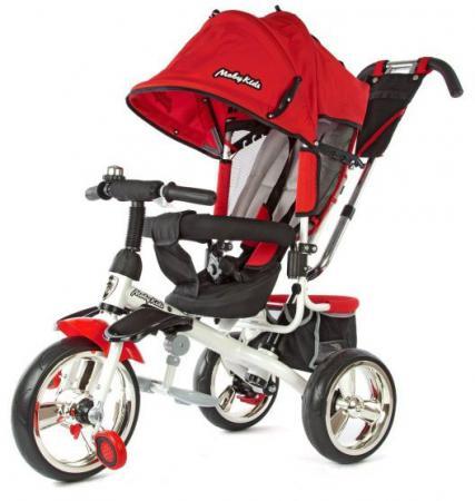 Велосипед трехколёсный Moby Kids Comfort -maxi 12*/10* красный 968SL12/10Red moby kids для прыжков со звуком красный