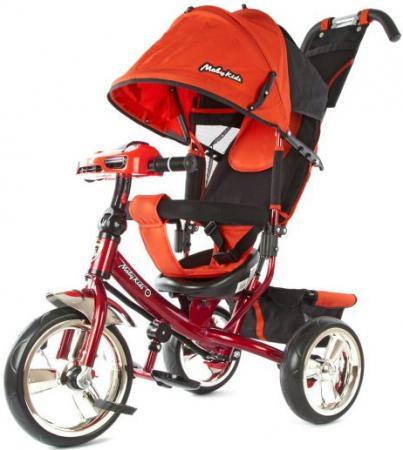 Велосипед трехколёсный Moby Kids Comfort 12*/10* красный 64946 велосипед moby kids comfort 2 12 10 голубой трехколёсный