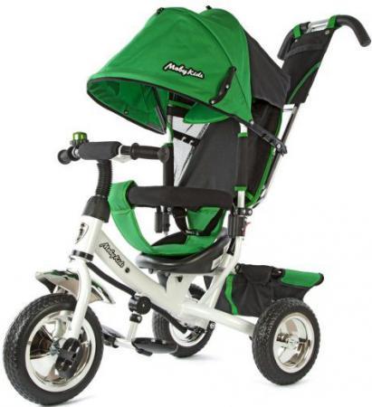 Велосипед трехколёсный Moby Kids Comfort 10/8 зеленый 950D велосипед geuther велосипед my runner серо зеленый