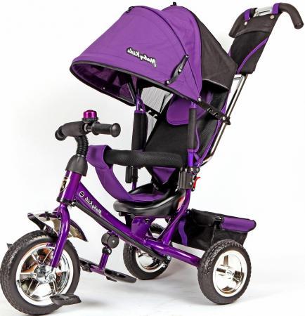 Велосипед трехколёсный Moby Kids Comfort 10/8 фиолетовый 950D