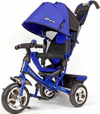 Велосипед трехколёсный Moby Kids Comfort 10/8 синий 64943