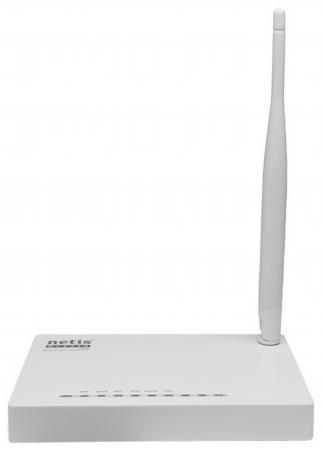 Беспроводной маршрутизатор ADSL Netis DL4310 802.11bgn 150Mbps 2.4 ГГц 1xLAN белый маршрутизатор беспроводной tp link td w8961n td w8961n adsl