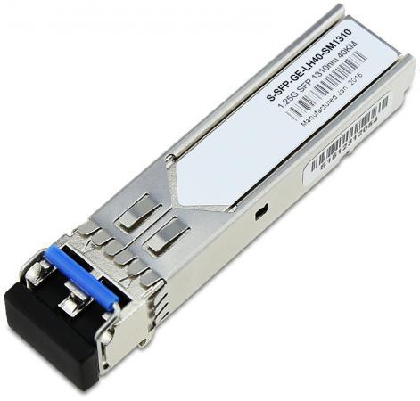 Трансивер Huawei S-SFP-GE-LH40-SM1310 02317346 [saa] sfp ge lh40 sm1310 a h3c gigabit ddm 40km with no alarm 2pcs lot