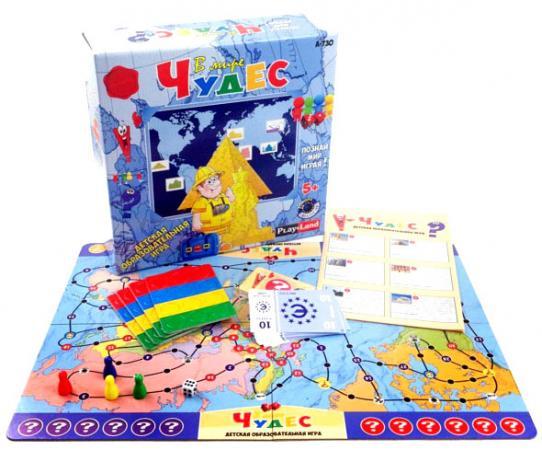 Настольная игра развивающая PLAYLAND В мире чудес A-730 настольная игра семейная playland номинация лучший артист l 170