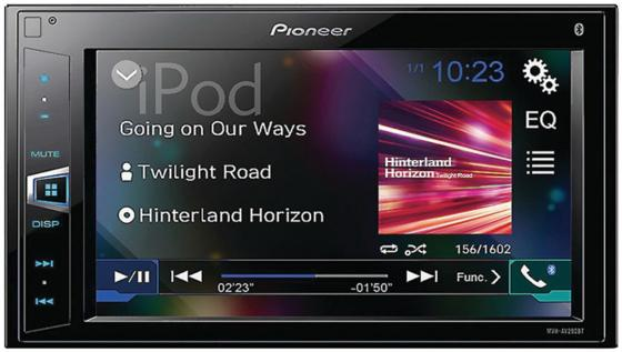 Автомагнитола Pioneer MVH-AV290BT 6.2 800х480 USB MP3 FM RDS 2DIN 4x50Вт черный автомагнитола pioneer mvh av190 usb mp3 fm rds 2din 4x50вт черный