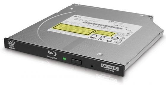 Привод для ноутбука Blu-ray LG BU40N SATA черный OEM