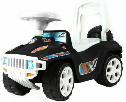Каталка-машинка Rich Toys Mini Formula 1 пластик от 10 месяцев с ручкой для родителей черный ОР856 каталка машинка r toys mini formula 1 пластик от 10 месяцев на колесах розовый ор856