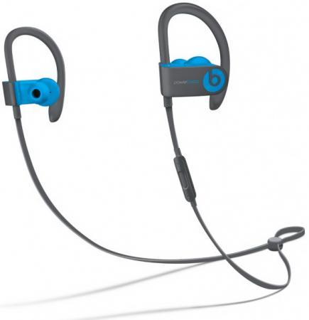 все цены на Наушники Apple Powerbeats3 Wireless Earphones  синий MNLX2ZE/A онлайн