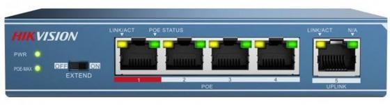 Коммутатор Hikvision DS-3E0105P-E 5-ports 10/100Mbps цена 2017