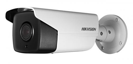 Камера IP Hikvision DS-2CD2T42WD-I5 6мм CMOS 1/3'' 2688 x 1520 H.264 MJPEG RJ-45 LAN PoE белый hikvision multi language version ds 2cd3t45d i5 4mp h 265 dc12v ip bullet camera support ir 50m ip66 outdoor waterproof