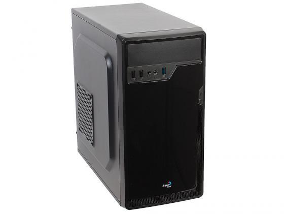 Корпус microATX Aerocool Cs-100 Advance 450 Вт чёрный корпус microatx sun pro electronics aroma i 450 вт чёрный
