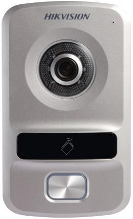 Видеопанель Hikvision DS-KV8102-VP includes mounting box hikvision ds kv8102 1a ds kv8102 im visual intercom doorbell waterproof ic card ip intercom