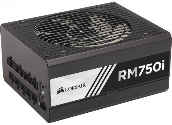 Фото - Блок питания ATX 750 Вт Corsair RM750i CP-9020082-EU блок питания accord atx 1000w gold acc 1000w 80g 80 gold 24 8 4 4pin apfc 140mm fan 7xsata rtl