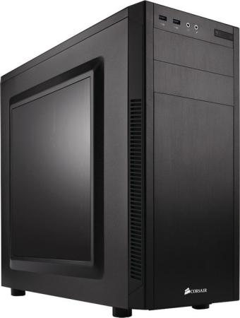 Корпус ATX Corsair Series 100R Без БП чёрный CC-9011075-WW carbide series 678c cc 9011167 ww low noise tempered glass atx case black