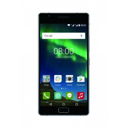 Смартфон Philips Xenium X818 черный 5.5 32 Гб Wi-Fi GPS 3G LTE смартфон philips s386 xenium navy