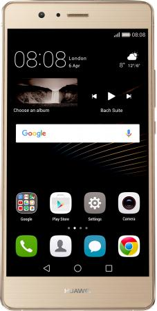 Смартфон Huawei P9 Lite золотистый 5.2 16 Гб LTE NFC Wi-Fi GPS 3G 51090WAH смартфон nokia 3 dual sim черный 5 16 гб lte wi fi gps nfc 11ne1b01a09