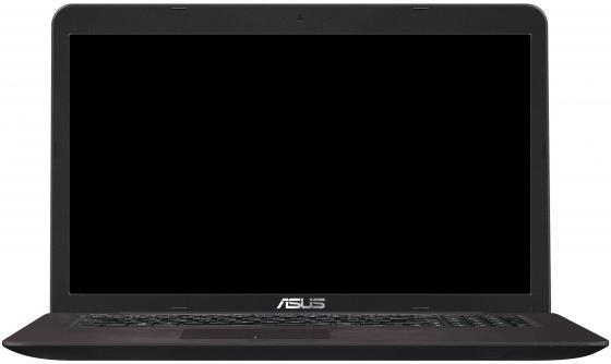Ноутбук ASUS X756UV-TY077T 17.3 1600x900 Intel Core i3-6100U 500Gb 4Gb nVidia GeForce GT 920MX 1024 Мб коричневый Windows 10 Home 90NB0C71-M00810 ноутбук asus x756uv 17 3 intel core i3 6100u 2 3ghz 4gb 500gb hdd 90nb0c71 m00810