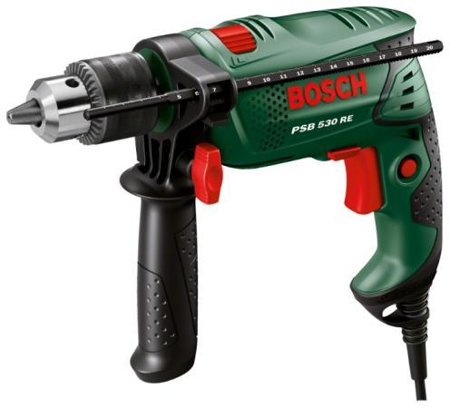 Дрель ударная Bosch PSB 530 RE дрель ударная bosch bosch psb 650re дрель ударная 0 603 128 020