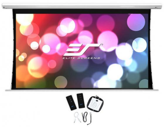все цены на Экран на раме Elite Screens SKT100XHW-E12 16:9 124.5x221.5см настенно-потолочный натяжной белый
