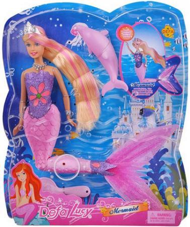 Кукла Defa Luсy «Русалка» со свет. эф-ми, 29 см 8243 кукла defa luсy свадебный наряд в ассорт