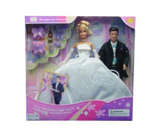 Игровой набор DEFA LUCY Жених и невеста в ассортименте 29 см 20991 defa toys кукла lucy happy wedding цвет платья розовый