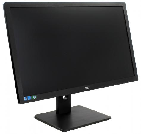 Монитор 27 AOC I2775PQU черный AH-IPS 1920x1080 300 cd/m^2 4 ms DVI HDMI DisplayPort VGA Аудио USB монитор 27 aoc i2769vm серебристый черный ips 1920x1080 250 cd m^2 5 ms vga hdmi displayport аудио
