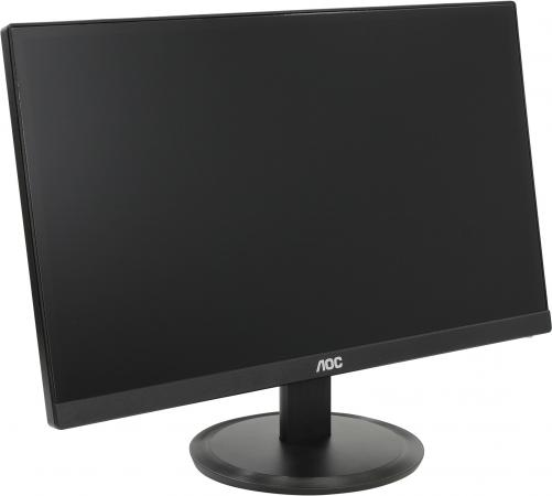 "Монитор 22"" AOC I2280SWD черный IPS 1920x1080 250 cd/m^2 6 ms VGA DVI цена и фото"
