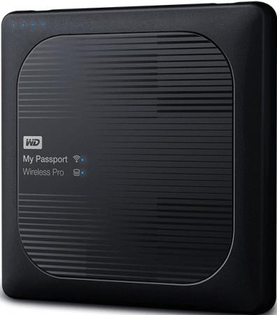 Внешний жесткий диск 2.5 USB3.0 2 Tb Western Digital My Passport Wireless Pro WDBP2P0020BBK-RESN wireless digital remote appliance power switch