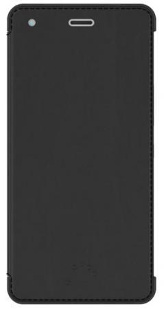 Чехол BQ для BQ Aquaris M4.5 черный E000604 myslc universal cover for bq aquaris m10 ubuntu edition tesla 2 w10 e10 10 1 inch tablet printed pu leather stand case