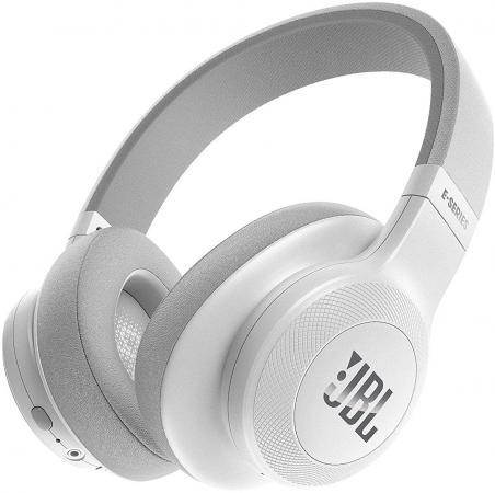 Гарнитура JBL E55BT белый JBLE55BTWHT наушники bluetooth jbl e55bt black jble55btblk