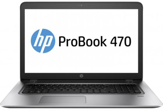 Ноутбук HP Probook 470 G4 17.3 1600x900 Intel Core i7-7500U 1Tb 8Gb nVidia GeForce GT 930MX 2048 Мб серебристый DOS Y8B04EA ноутбук hp probook 470 y8b04ea core i7 7500u 8gb 1tb 17 3 nv 930mx 2gb dvd dos