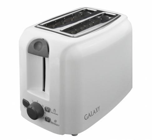 Тостер GALAXY GL 2905 белый тостер galaxy gl 2904