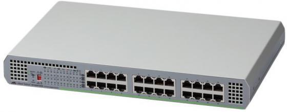 Коммутатор Allied Telesis AT-GS910/24-50 неуправляемый 24 порта 10/100/1000Mbps коммутатор allied telesis at 8000gs 24poe layer 2 24 порта 10 100 1000mbps 4xsfp poe