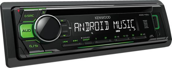 Автомагнитола Kenwood KDC-110UG USB MP3 FM 1DIN 4х50Вт черный kenwood ts 50 б у