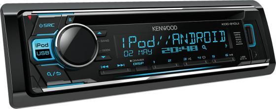 Автомагнитола Kenwood KDC-210UI USB MP3 CD FM 1DIN 4х50Вт черный автомагнитола kenwood kmm 103gy usb mp3 fm 1din 4х50вт черный