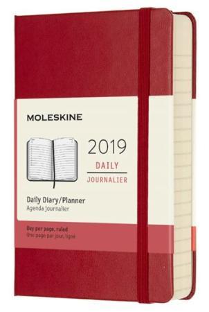 Ежедневник датированный Moleskine Classic Daily Pocket Soft 90x140 мм