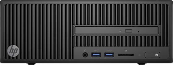 Системный блок HP 280 G2 SFF  i3-6100 4Gb 500Gb DVD-RW DOS клавиатура мышь черный Y5Q31EA#ACB системный блок lenovo s200 mt j3710 4gb 500gb dvd rw dos клавиатура мышь черный 10hq001fru