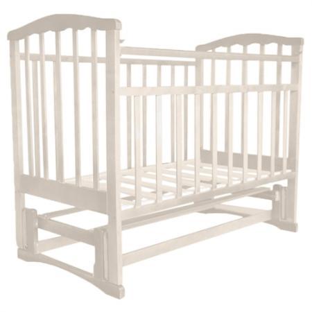 Кроватка с маятником Агат Золушка-5 (слоновая кость) кроватка papaloni винни 120х60см с маятником слоновая кость