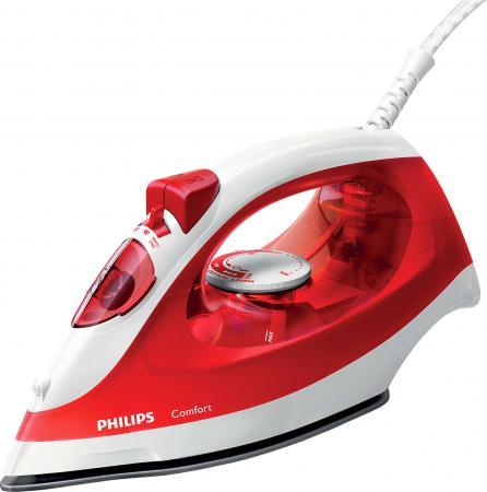 Утюг Philips GC1433/40 2000Вт красный белый GC1433/40 philips gc 2046