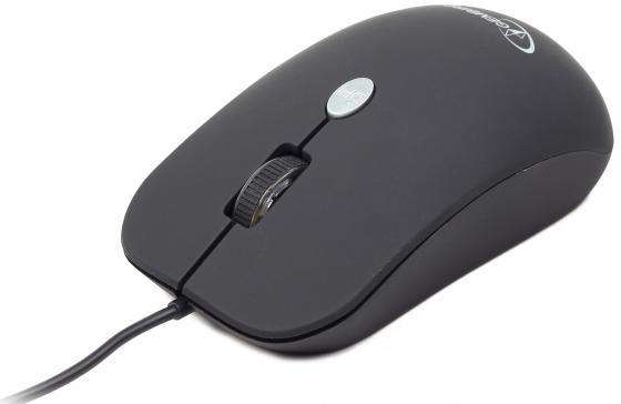 Мышь проводная Gembird MUS-102 чёрный USB цена 2017