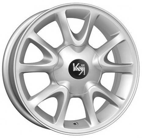Диск K&K Lada Kalina (КС579) 5.5xR14 4x98 мм ET35 Сильвер [30173] колесные диски nz wheels sh275 5 5x13 4x98 d58 6 et35 s