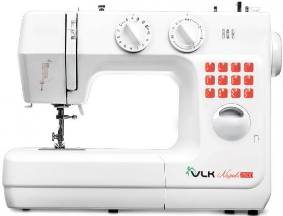 Швейная машина VLK Napoli 2800 белый электромеханическая швейная машина vlk napoli 2100