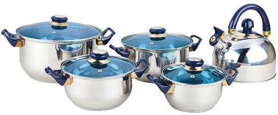 Набор посуды Bekker BK-4605 9 предметов набор посуды bekker deluxe из 13 ти предметов вк 2862