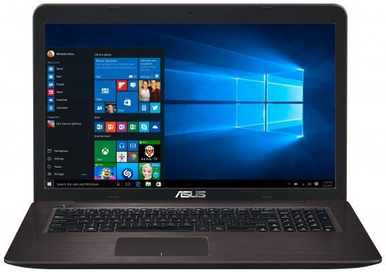 Ноутбук ASUS X756UQ-TY232T 17.3 1600x900 Intel Core i5-6200U 1 Tb 4Gb nVidia GeForce GT 940MX 2048 Мб коричневый Windows 10 90NB0C31-M02550 ноутбук asus x756uv ty042t 17 3 1600x900 intel core i3 6100u 1tb 4gb nvidia geforce gt 920mx 2048 мб коричневый windows 10 home 90nb0c71 m00420